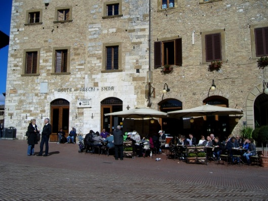 The main Piazza