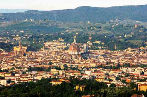 Fiesole Italy  City pictures : Fiesole, Italy overlooking Firenza, is charming and has a nearby set ...