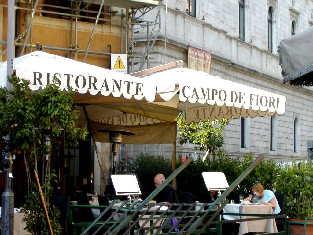 Fiori 4 Stagioni.Campo Dei Fiori Travelling With Lyn
