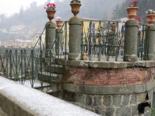 Snow at Ponte a Serraglio