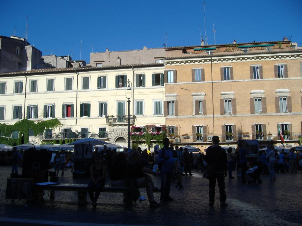 My reasons for travelling to Italy - Series - Piazza (4/6)