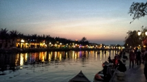 Hoi An at Sunset