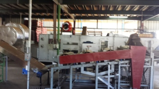Machinery for the tea production