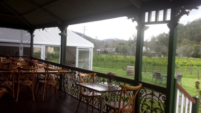 Screened veranda
