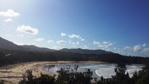 Beaches along the way